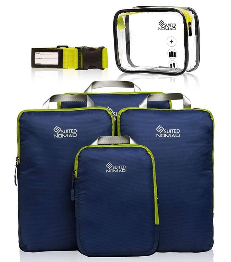 SuitedNomad Compression Packing Cubes