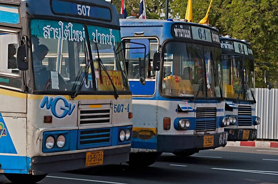 Thailand buses