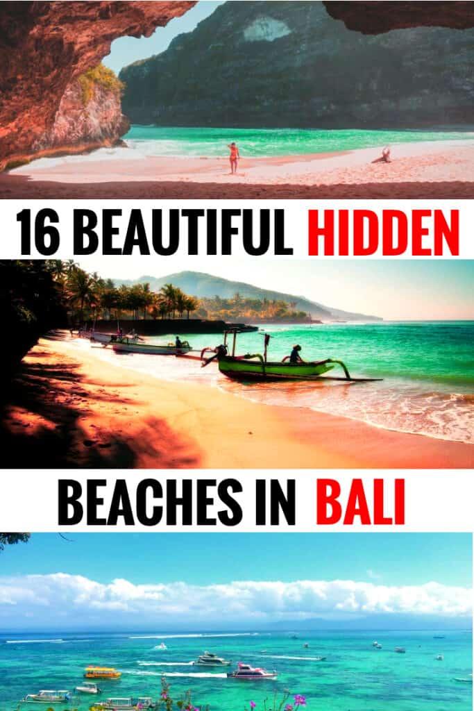 hidden beaches in bali