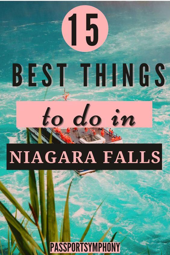 unique things to do in niagara falls