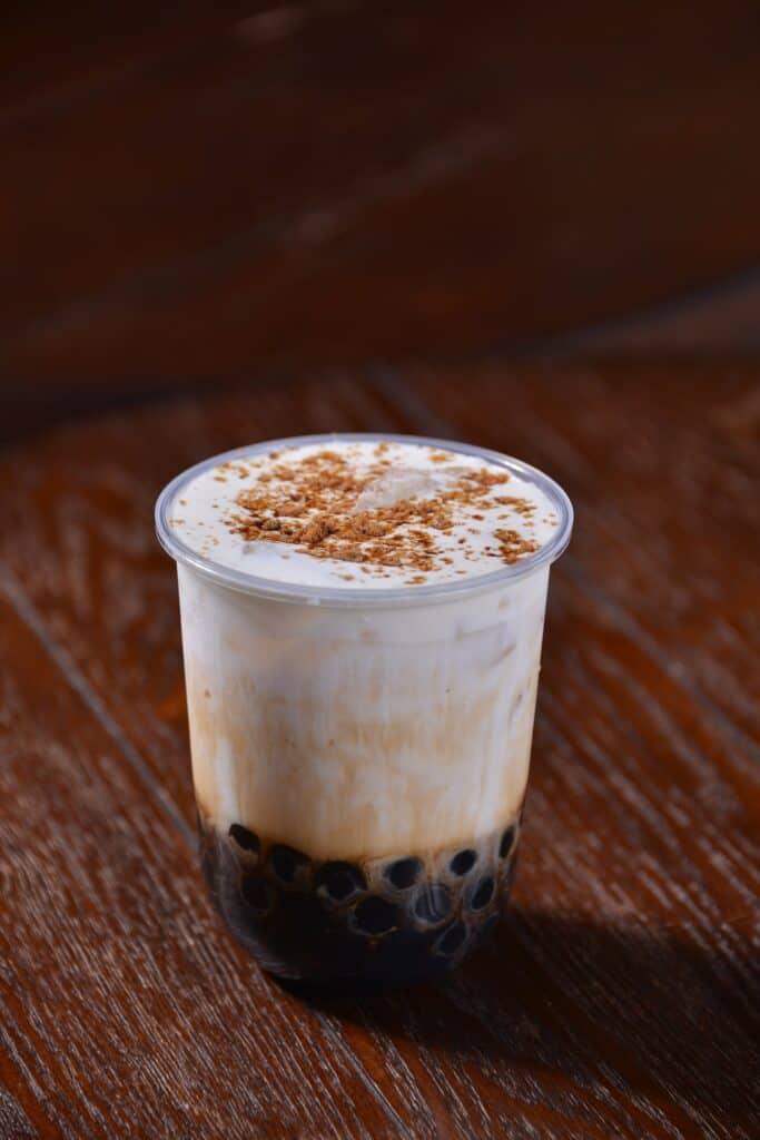Frog's egg drink (qing wa xia dan)