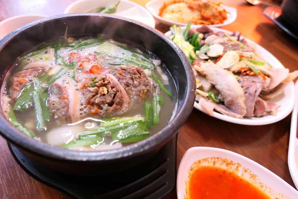 pork rib soup taiwan
