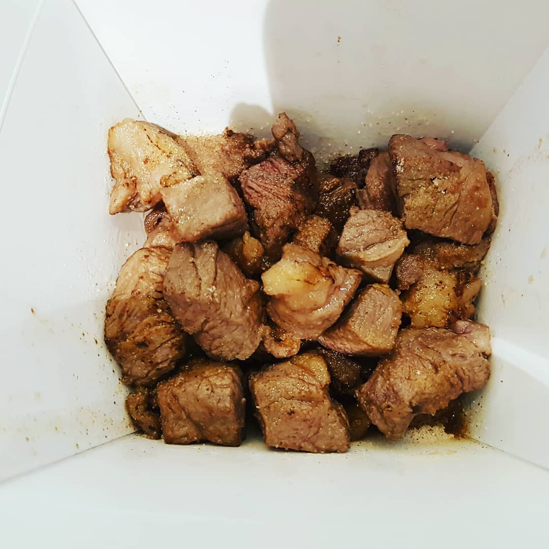 grilled beef cubes taiwan