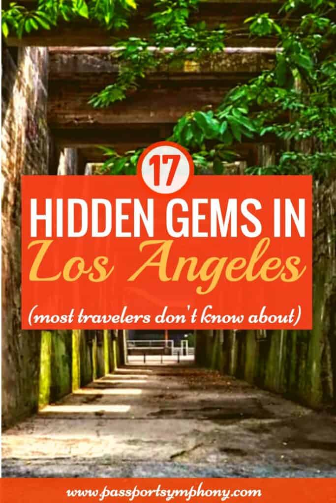 hidden gems in los angeles