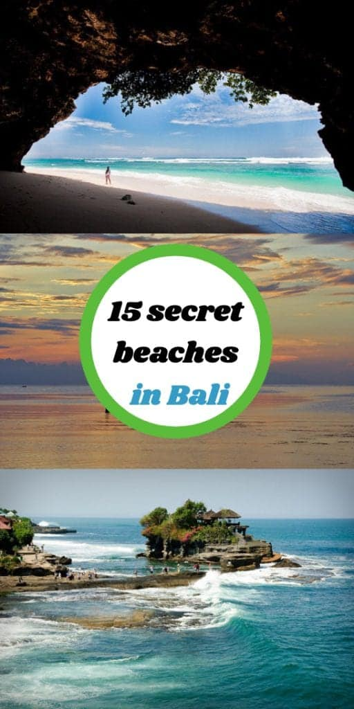 hidden beaches in bali