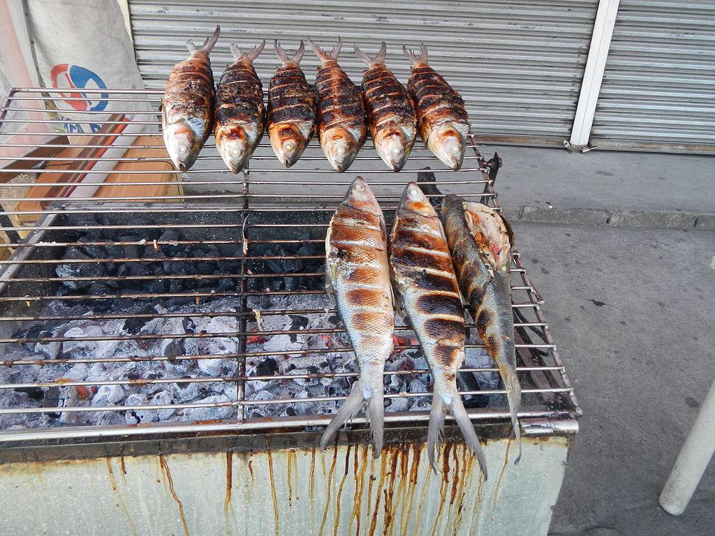 milkfish street food in taiwan
