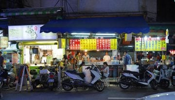 street food in taiwan