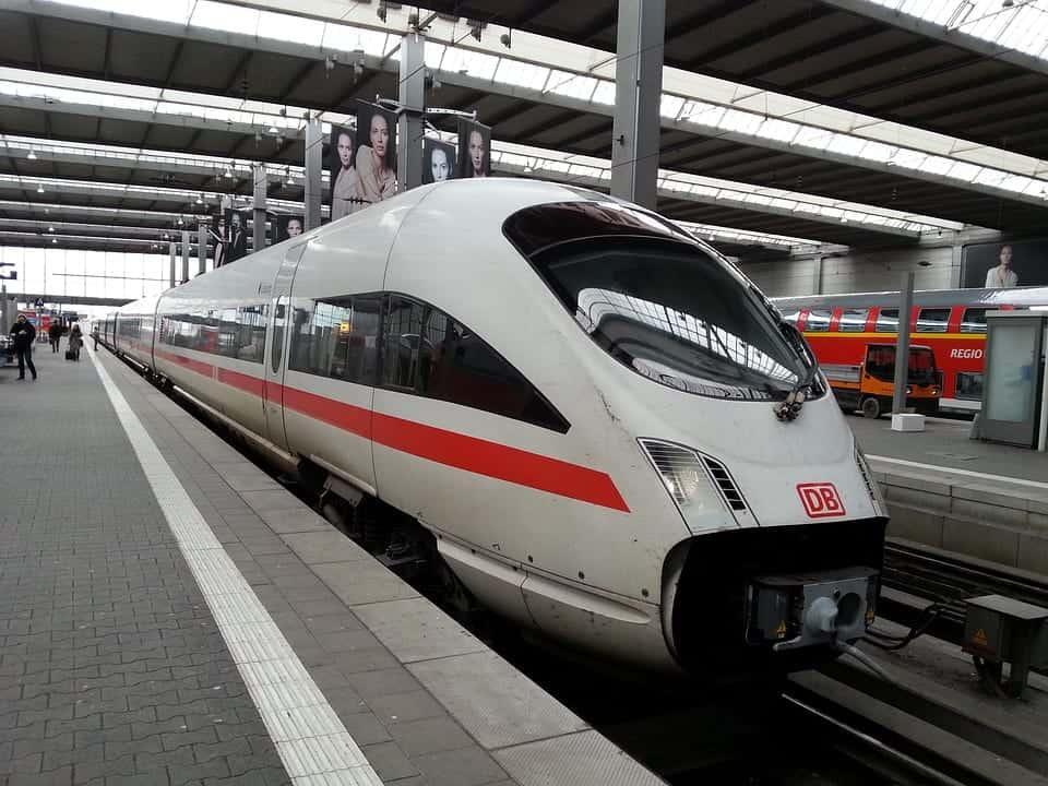 german fast train