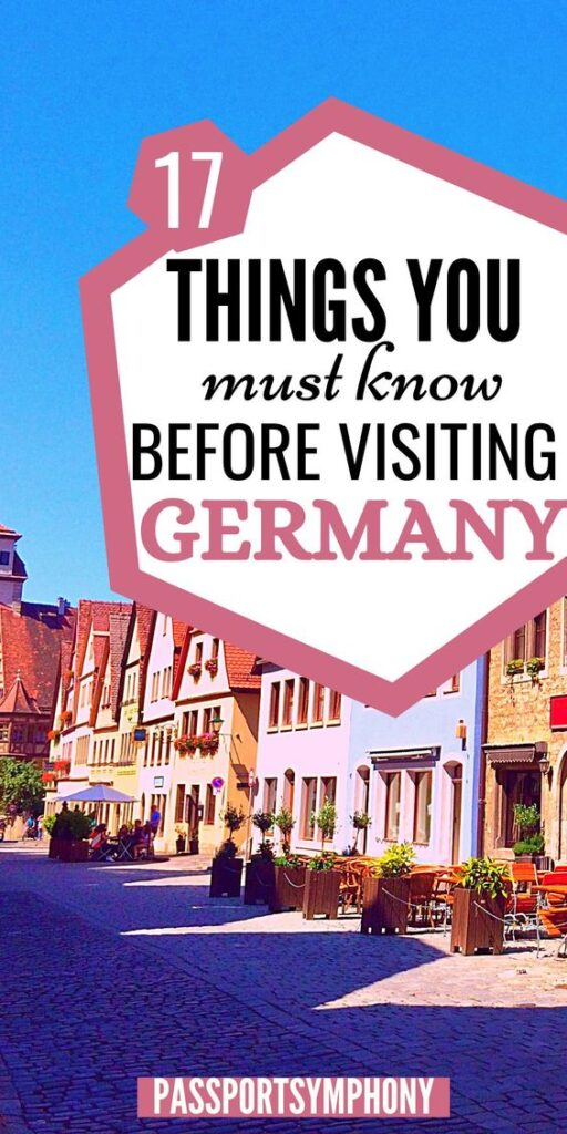 visiting germany tips