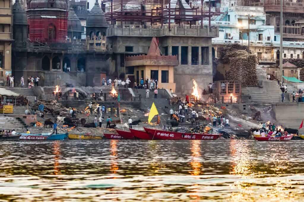 Manikarnika ghats in varanasi