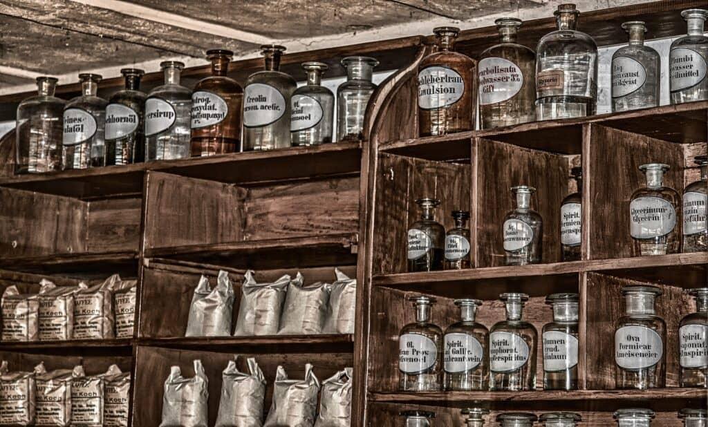 antique pharmacy