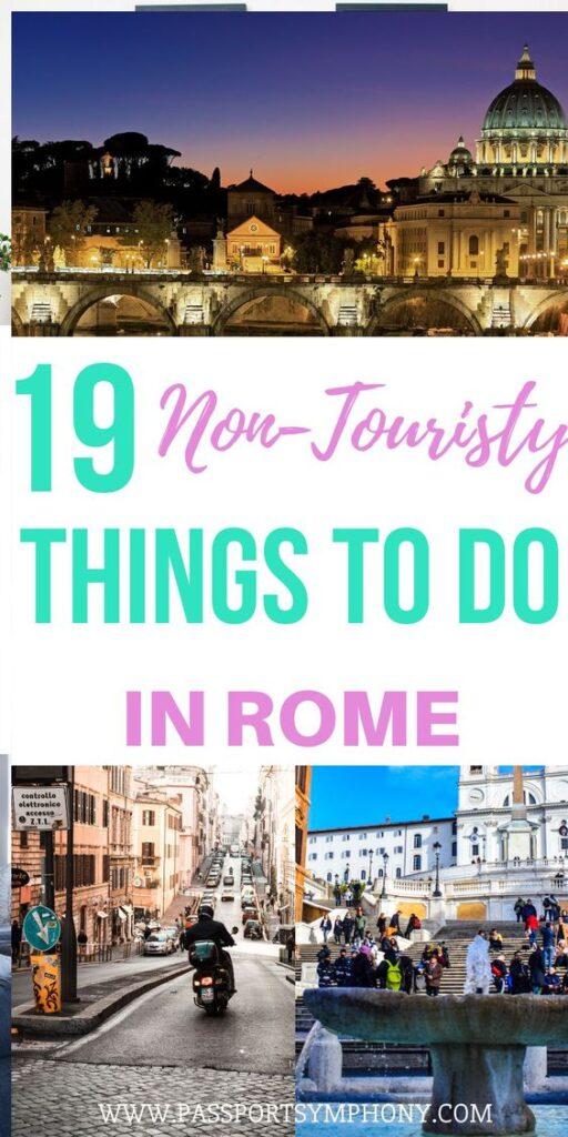 rome non touristy things to do