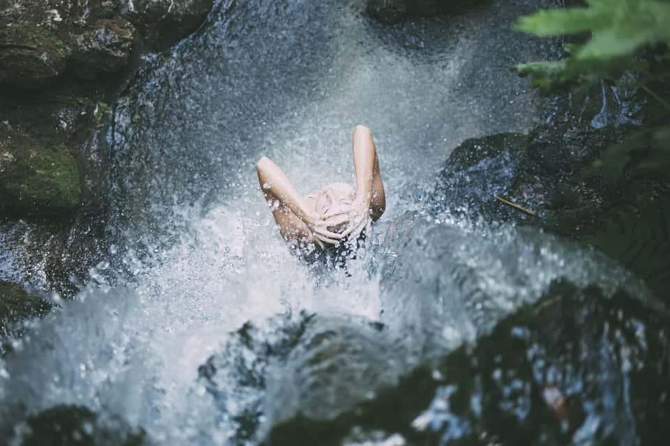 shower nature