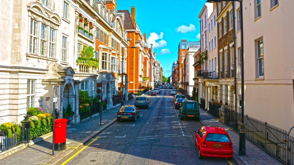 london street rome