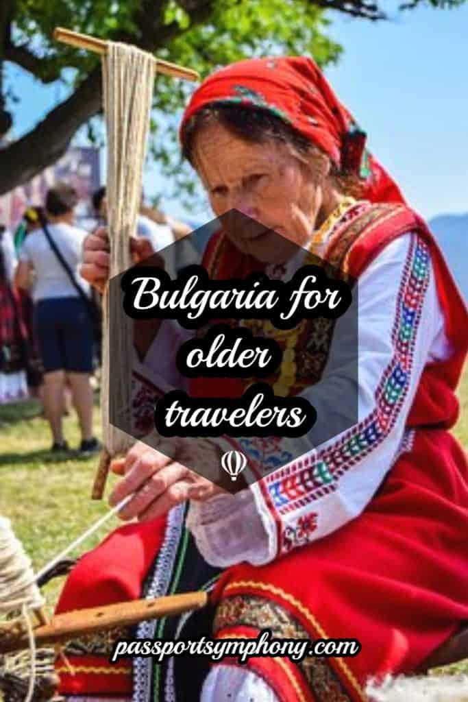 Bulgaria for older travelers