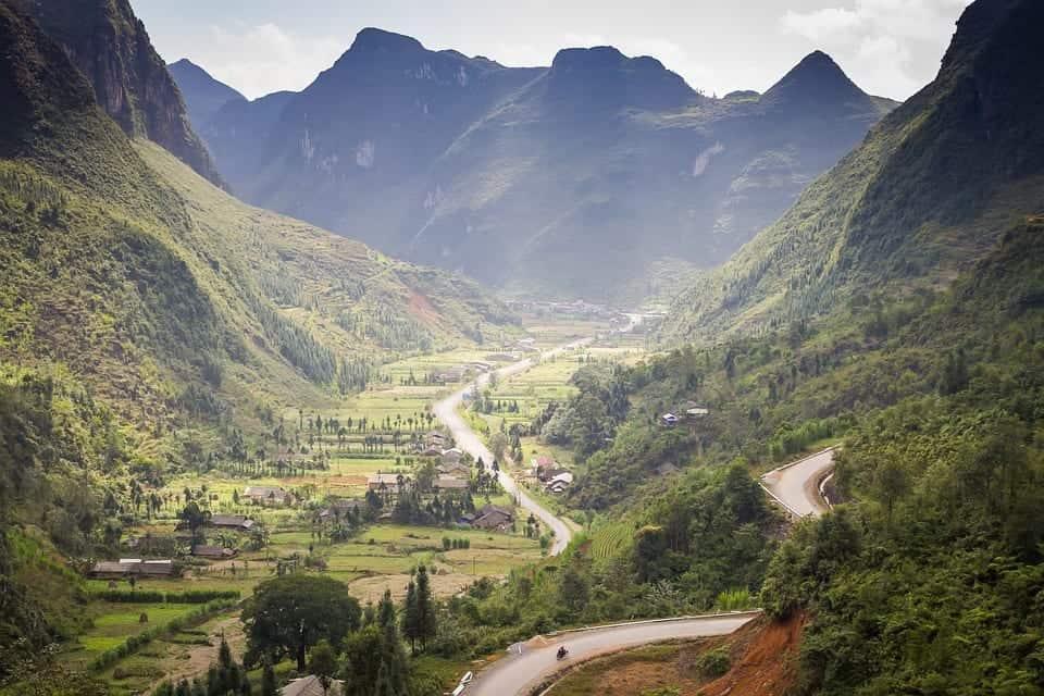 Ha Giang mountains