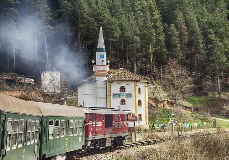 book train europe
