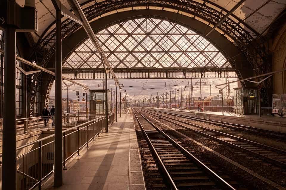 empty train station europe