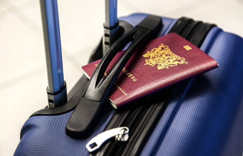 passport train travel
