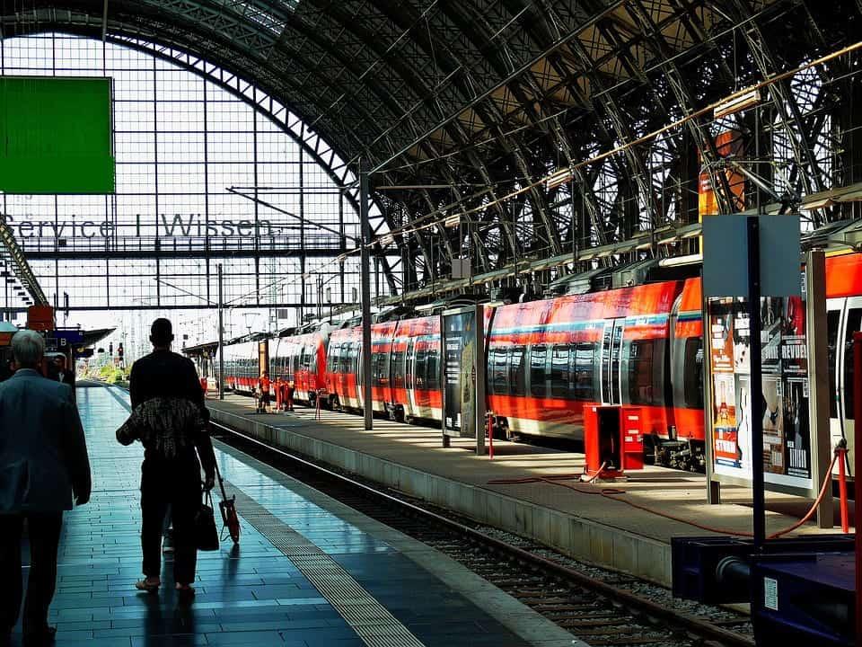 railway station germany