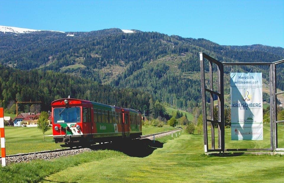 train germany countryside