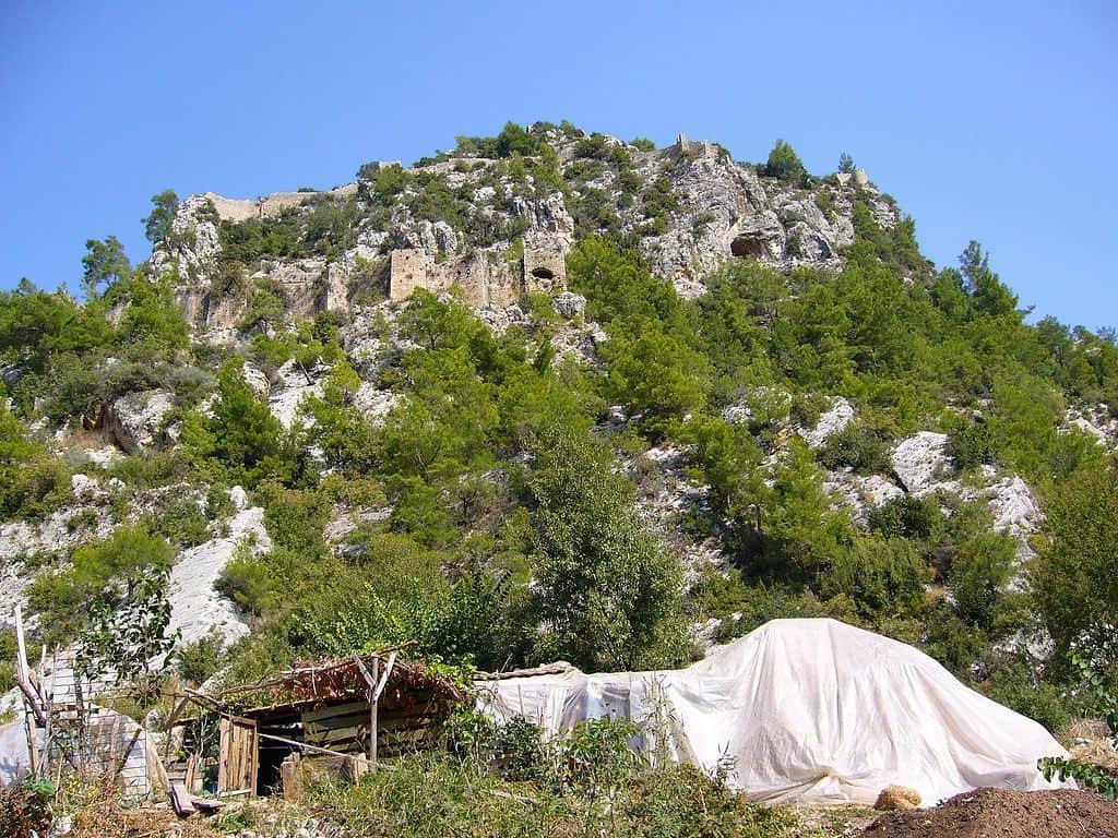 Alara Castle hidden gems in antalya