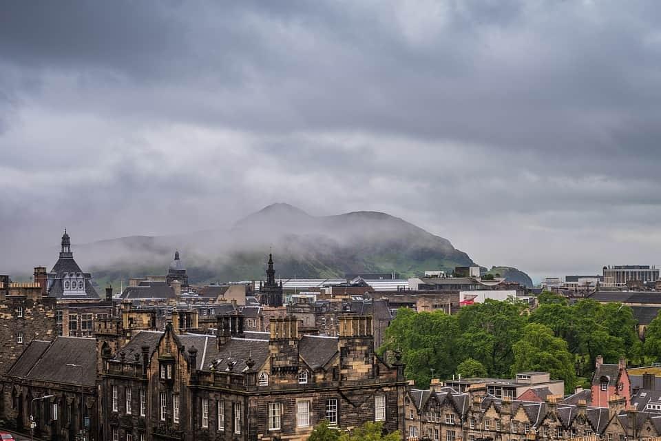 Edinburgh best winter destinations in europe