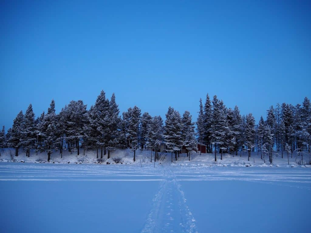 Kiruna sweden winter