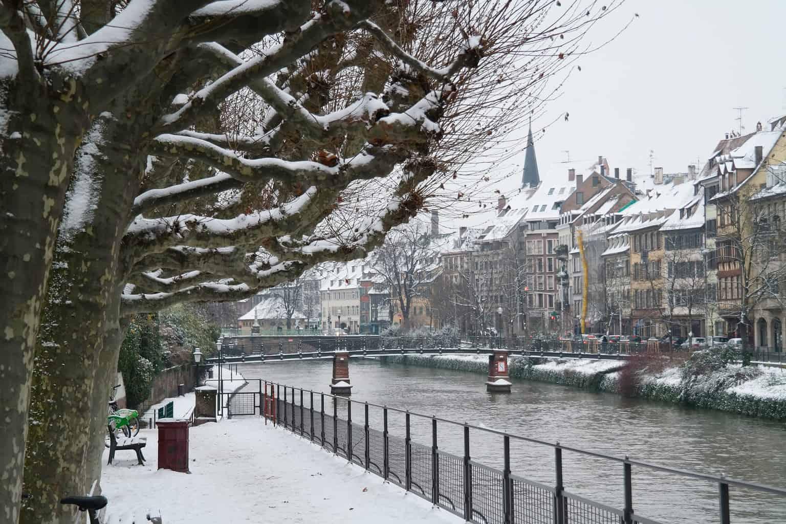 Strasbourg best winter destinations in europe