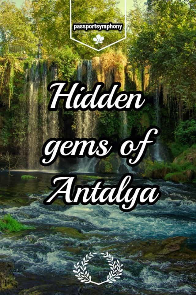 hidden gems in antalya