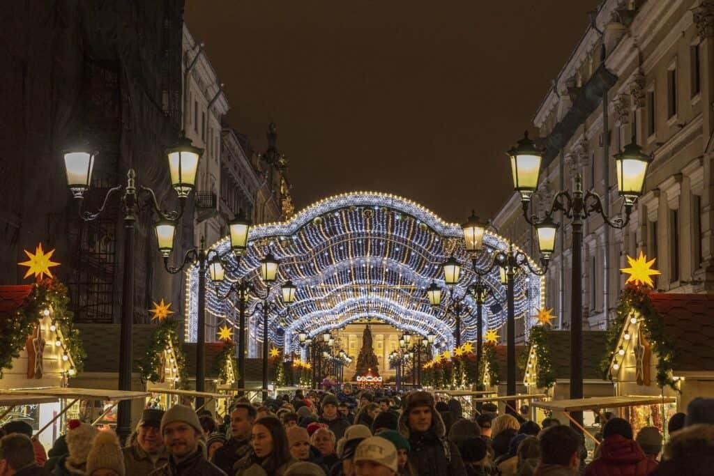 winter festivals in st petersburg