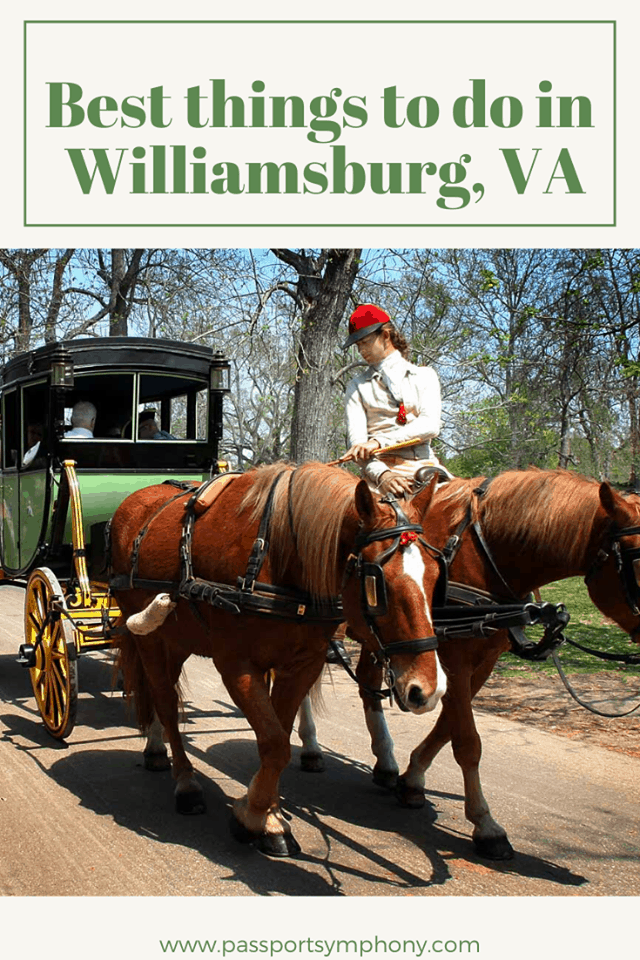 things to do in williamsburg VA