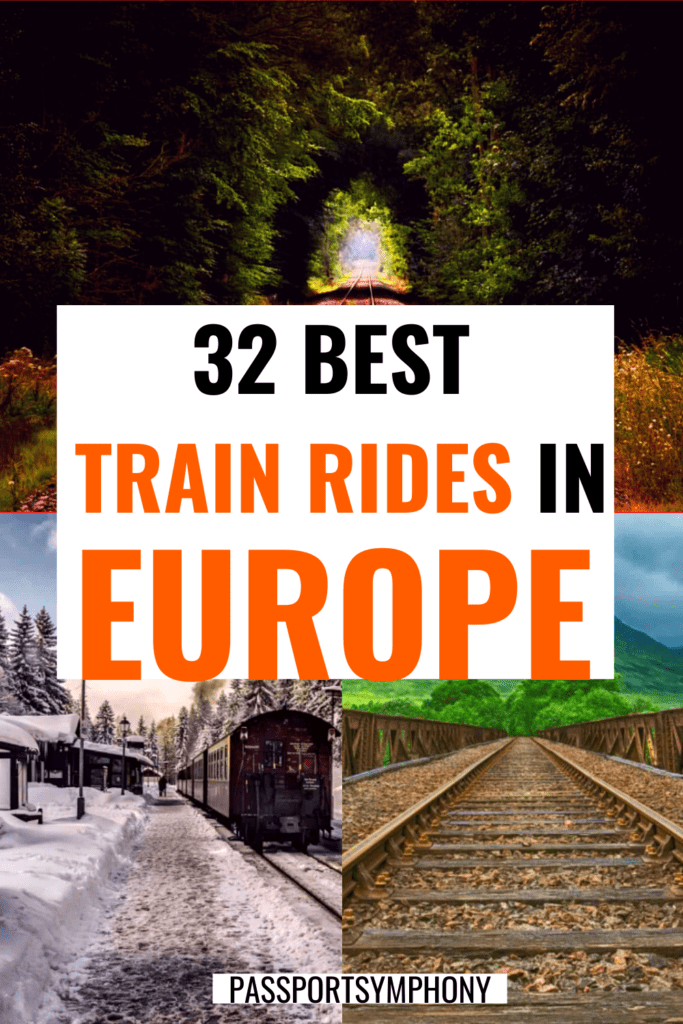 most scenic train journeys in europe