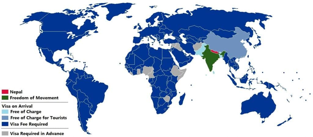 nepal visa policy