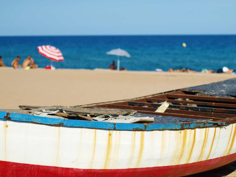 Bogatell Beach hidden gems in barcelona