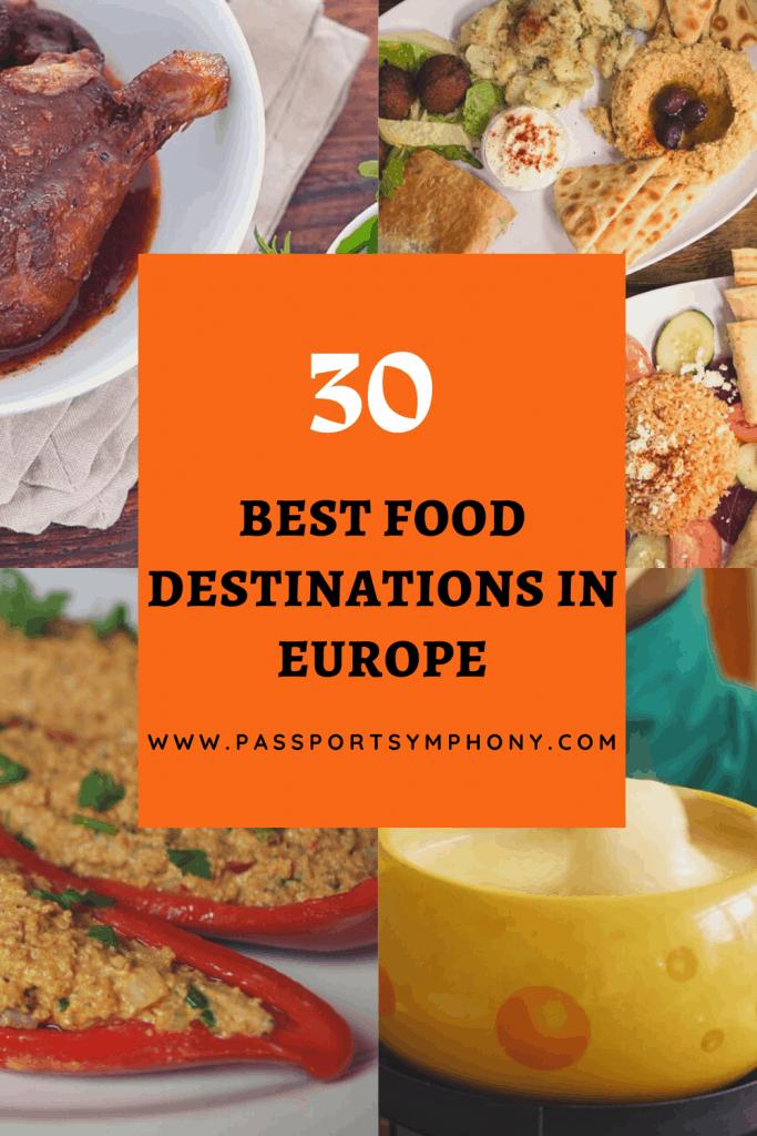 best food destinations in europe