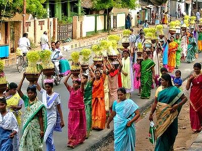 Aadi Perukku, Tamil Nadu, India
