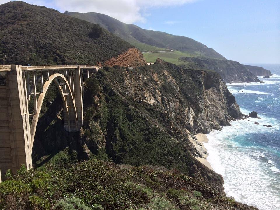 big sur pacific coast highway vacation