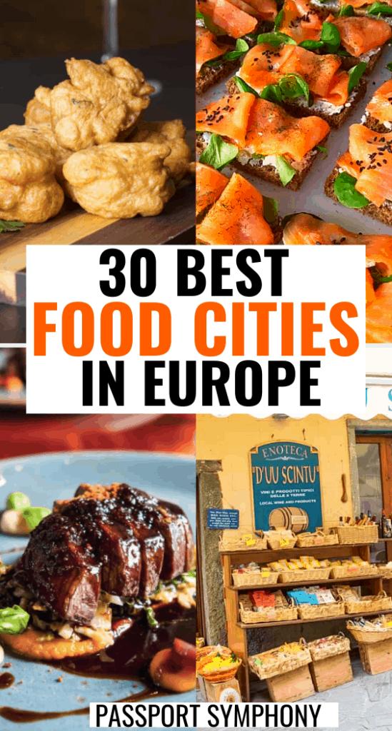 best fooddestinations in europe