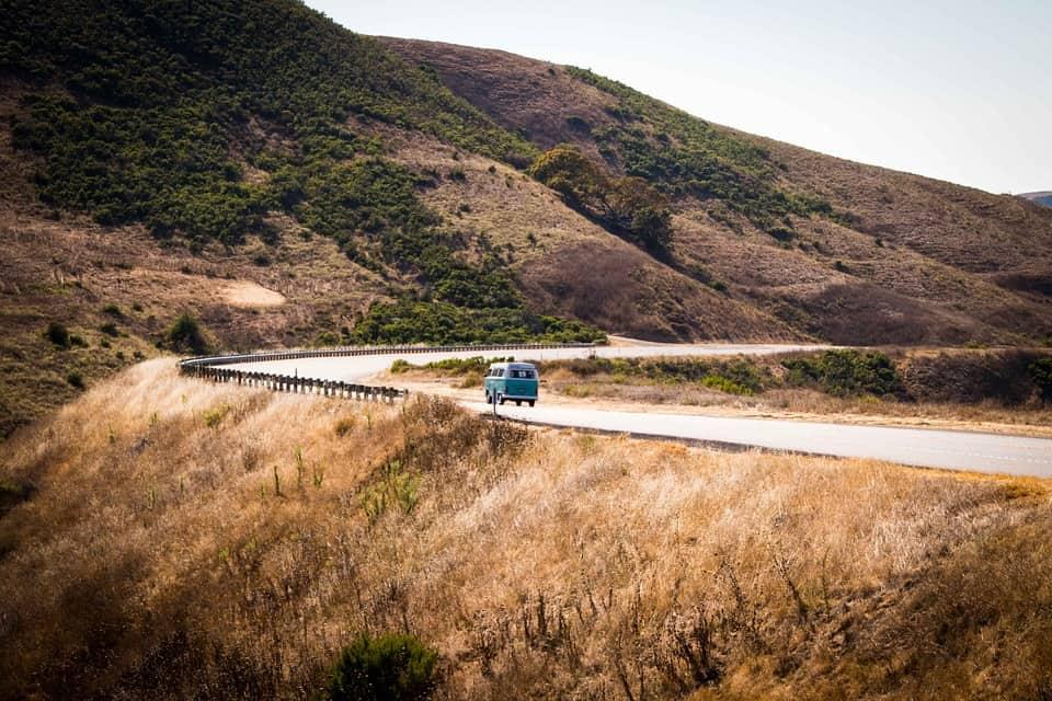 pacific coast road trip