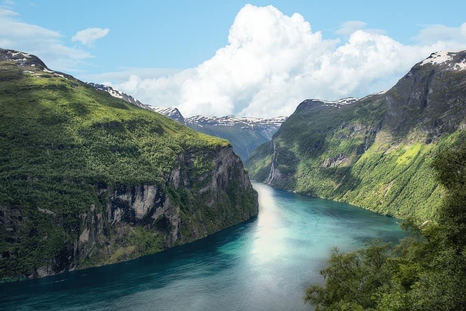 norway fjord scenery