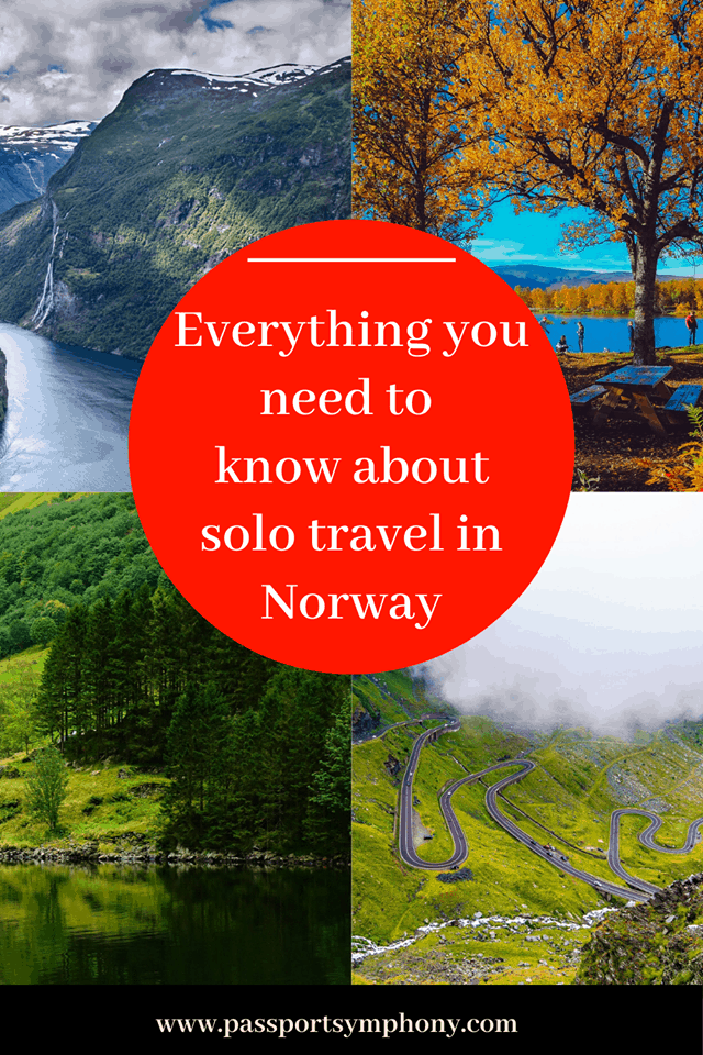 solo travel in norway
