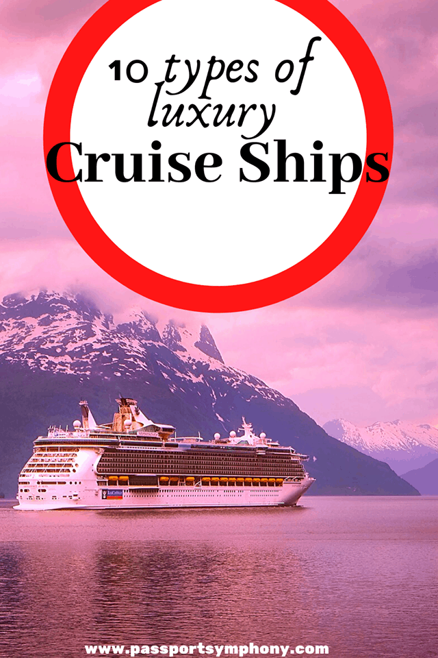 types of cruise ships