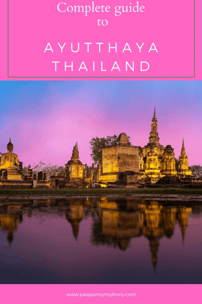 ayutthaya historic city guide