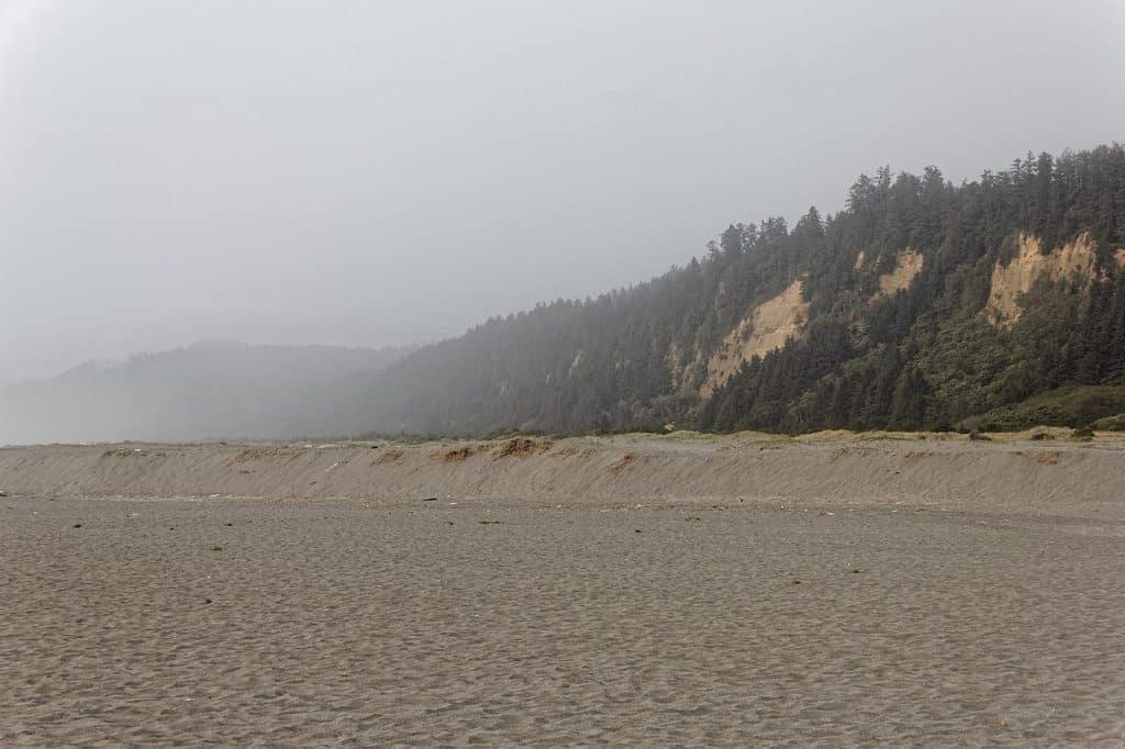 Gold Bluffs hidden beaches in california
