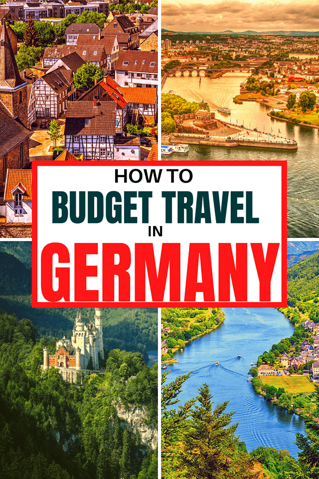 budget travel germany