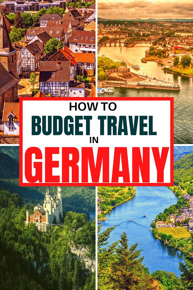 budget travel germany