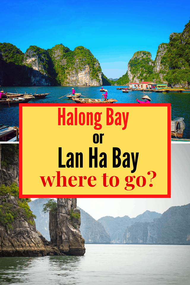ha long bay vs lan ha bay