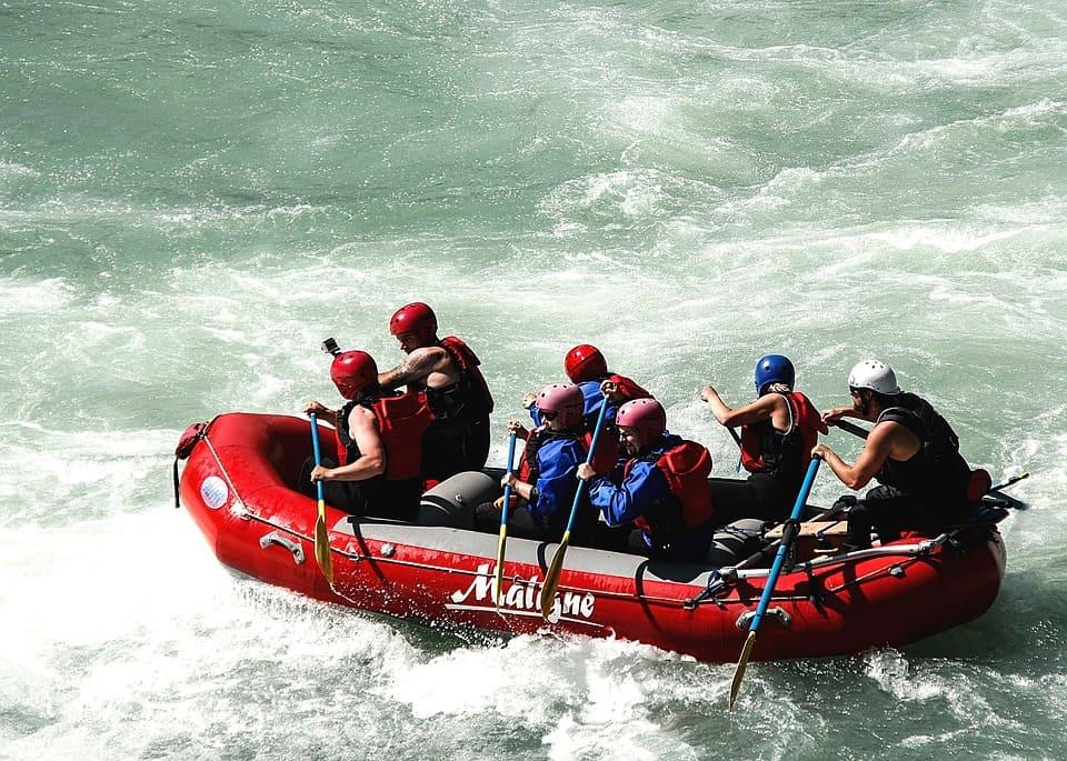rafting lower american river