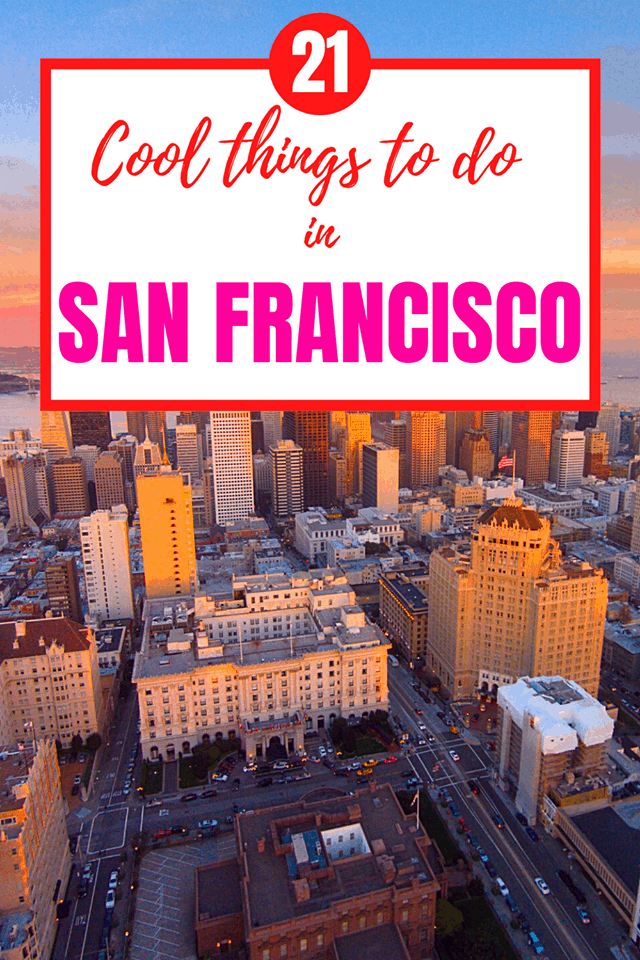 unique things to do in san francisco